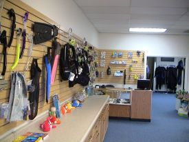 Our Dive Shop